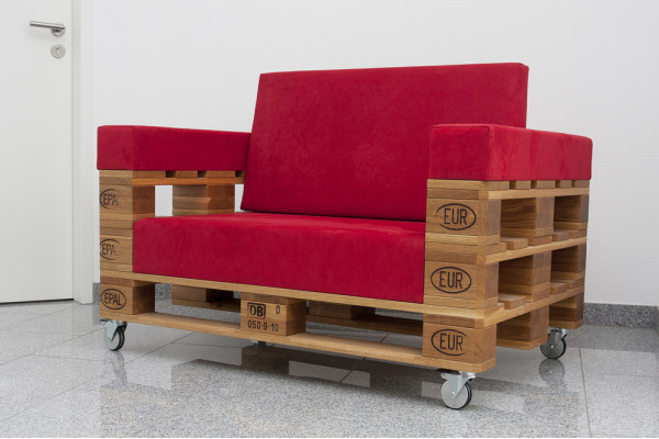 SCHROTH Palettensofa Eiche massiv (Limited Edition)
